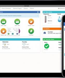 iPad plus iPhone6 Dashboard