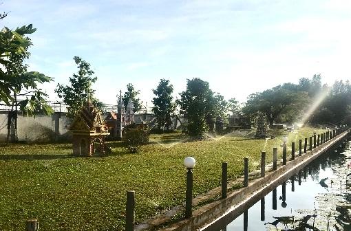 tưới tự động, resort, khu nghỉ dưỡng, thiết bị tuowisi Hunter
