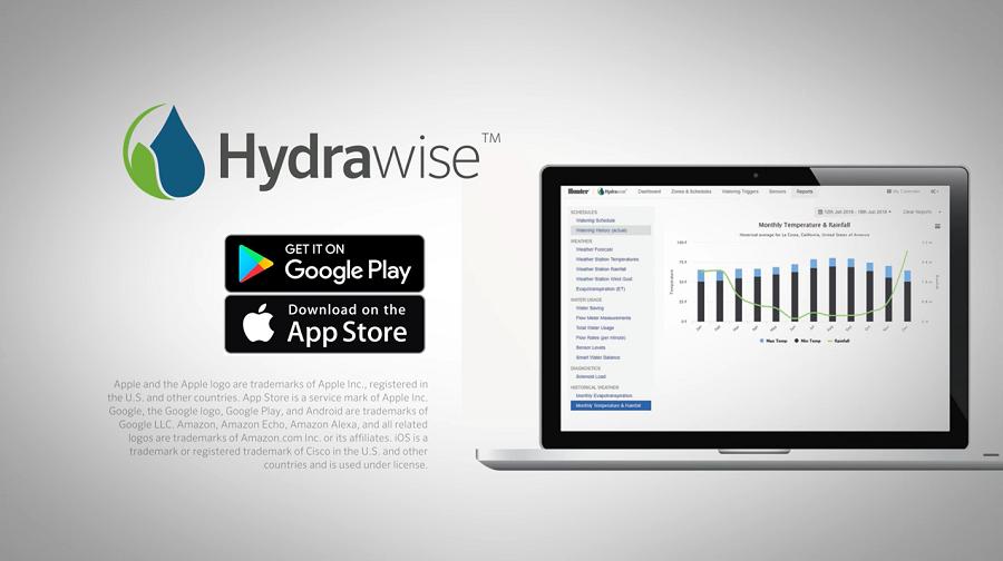 Hydrawise trên máy tính, laptop