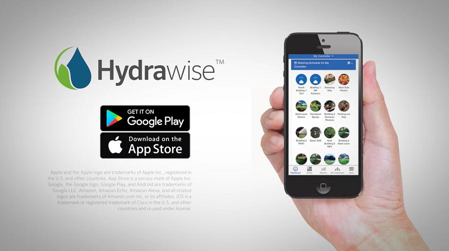 Hydrawise trên điện thoại thông minh