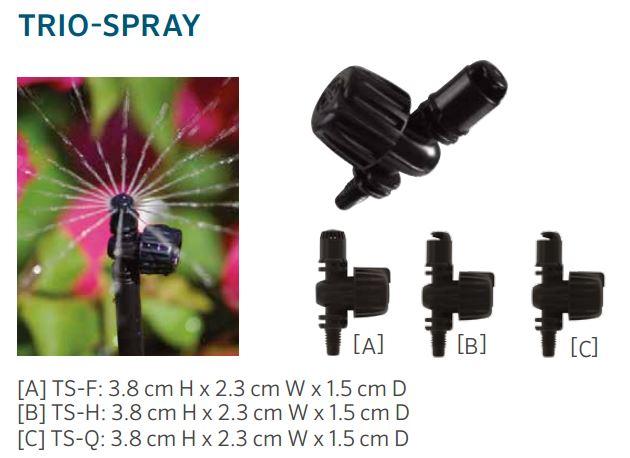 Trio-spray